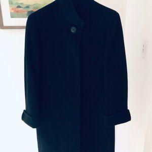 Cinzia Rocca Black Wool Coat
